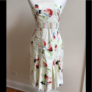 Anthropologie Dresses - Anthro Maeve Strapless Dress